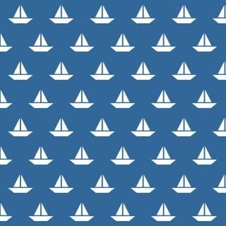 Papel de Parede Adesivo Barcos
