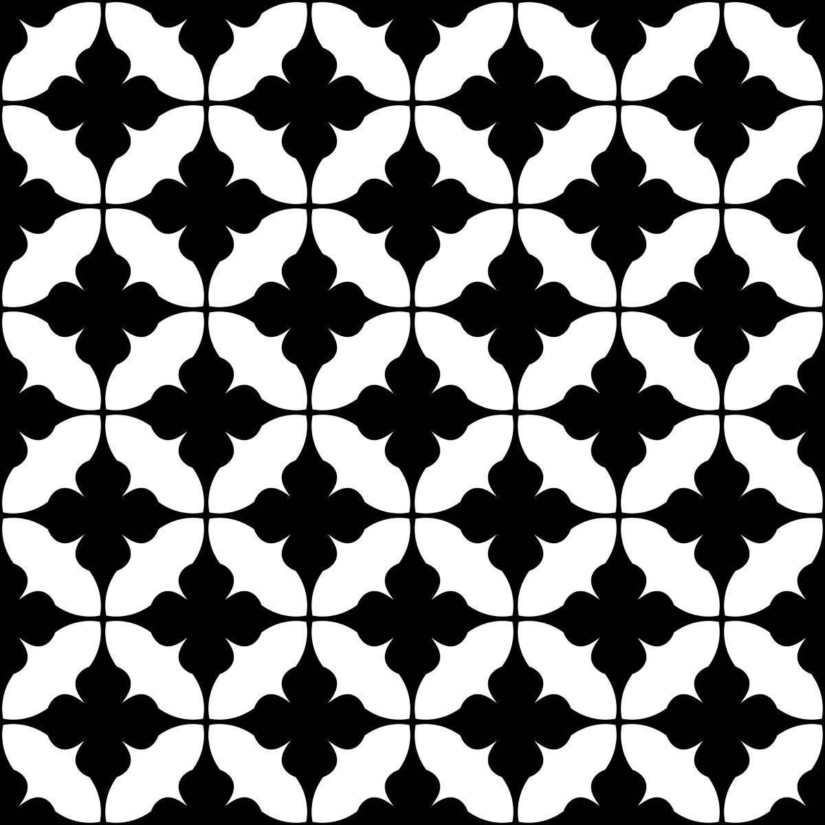 Papel de Parede Preto e Branco Retrô | Adesivo Vinilico imagem 2