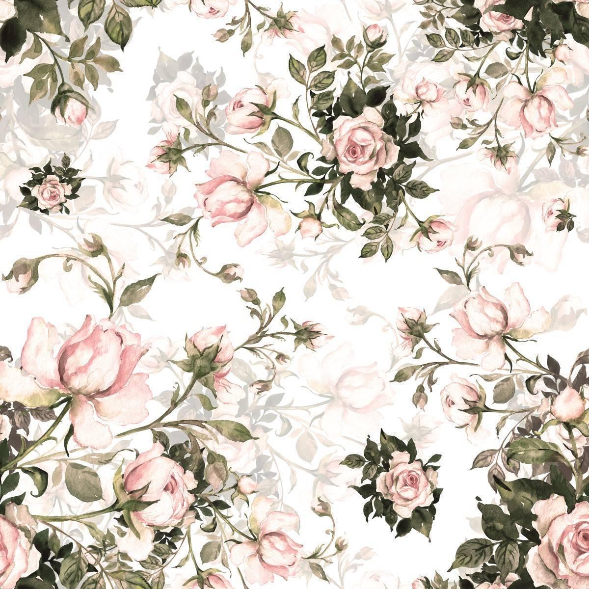 Papel de Parede Rosas | m² imagem 2