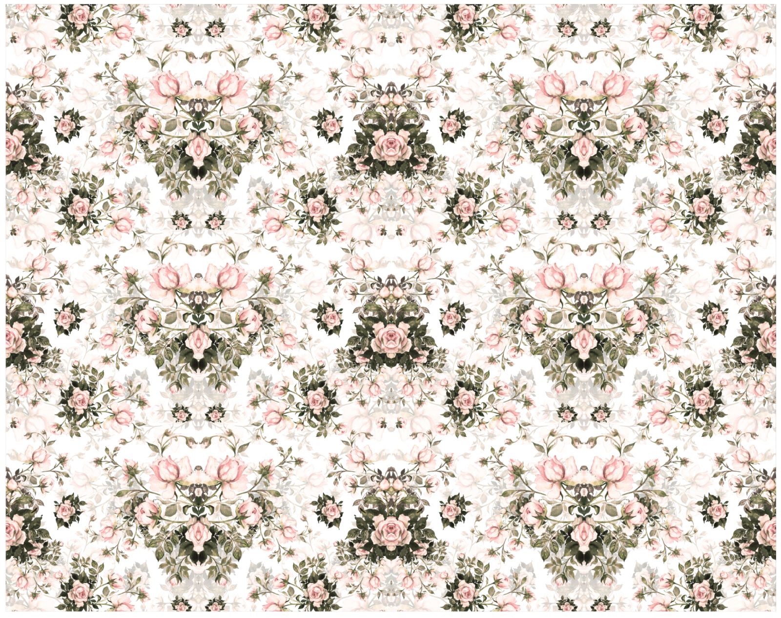 Papel de Parede Rosas | m² imagem 3