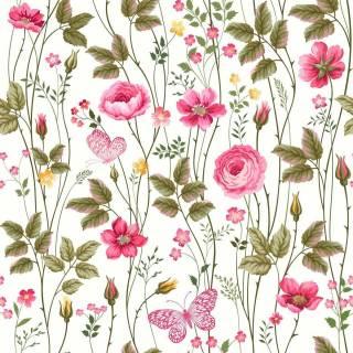 Papel de Parede Floral Rosas | Adesivo Vinílico