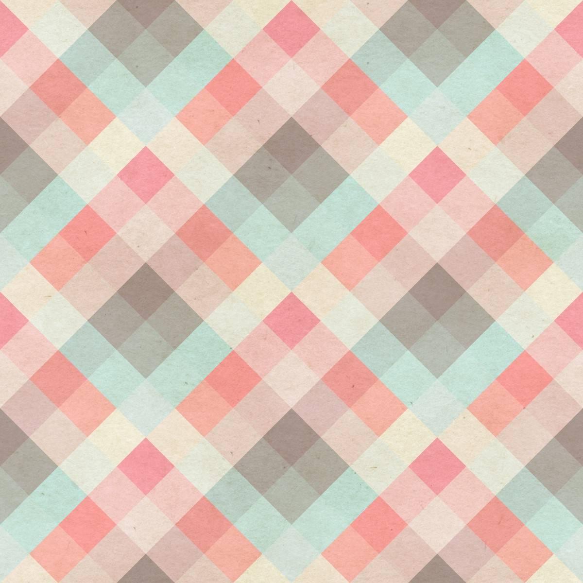 Papel de Parede Xadrez Colorido | Adesivo Vinilico imagem 1