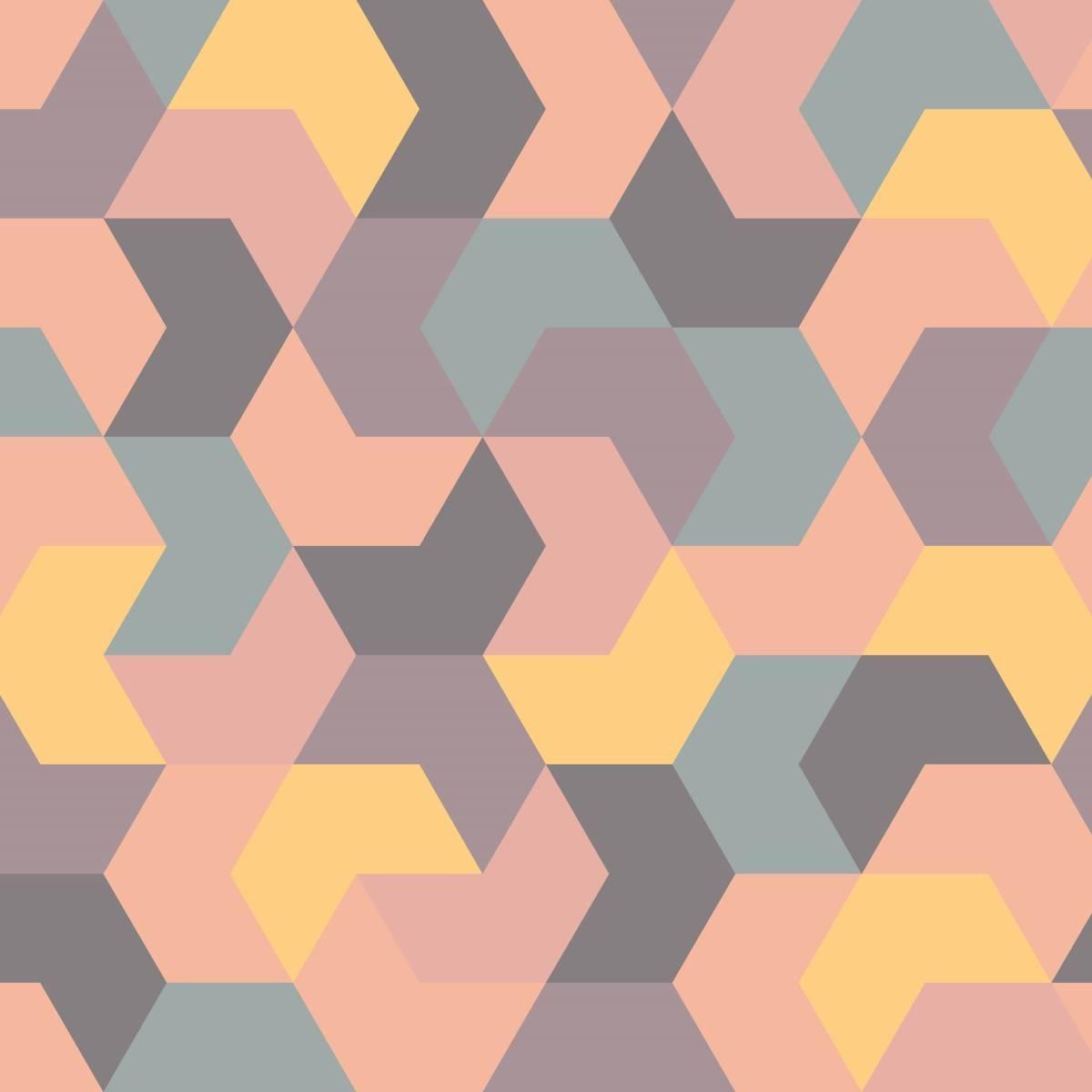 Papel de Parede Tons Pastel | Adesivo Vinilico imagem 1