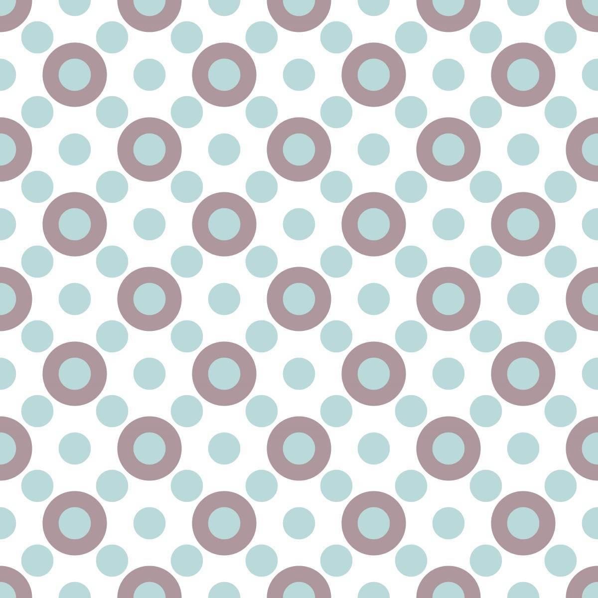 Papel de Parede Adesivo Geométrico Circulos /Rolo imagem 1