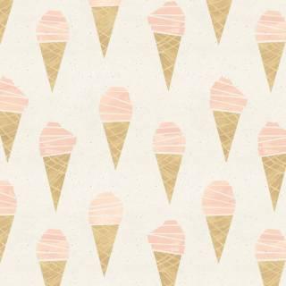 Papel de Parede Adesivo Ice Cream /Rolo   Redecorei