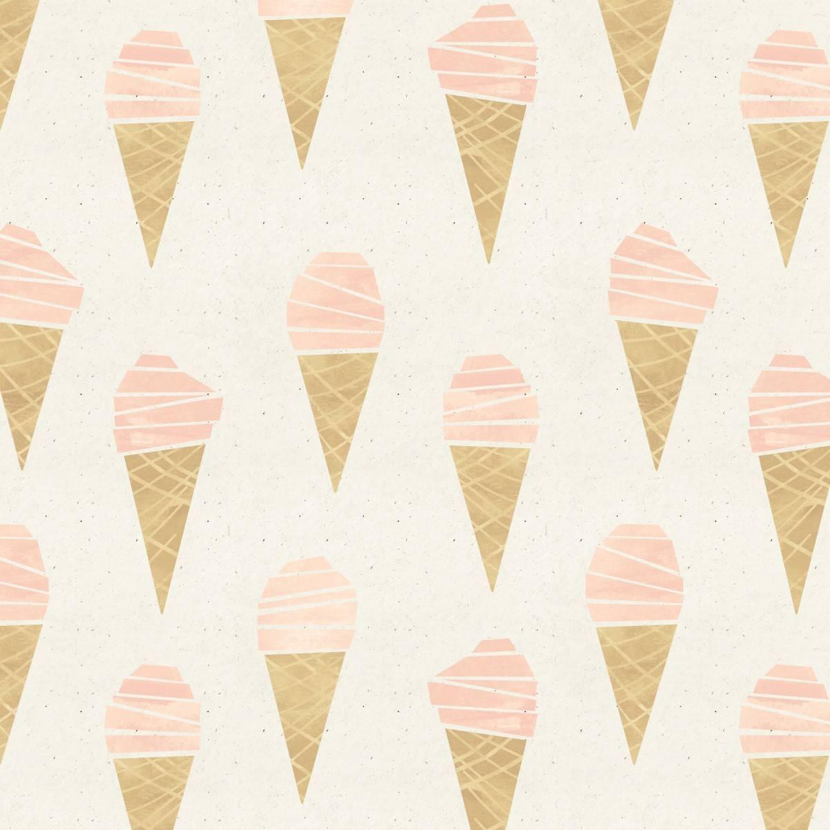 Papel de Parede Adesivo Ice Cream /Rolo imagem 2