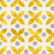 imagem do Papel de Parede Geométrico Dourado | Adesivo Vinílico