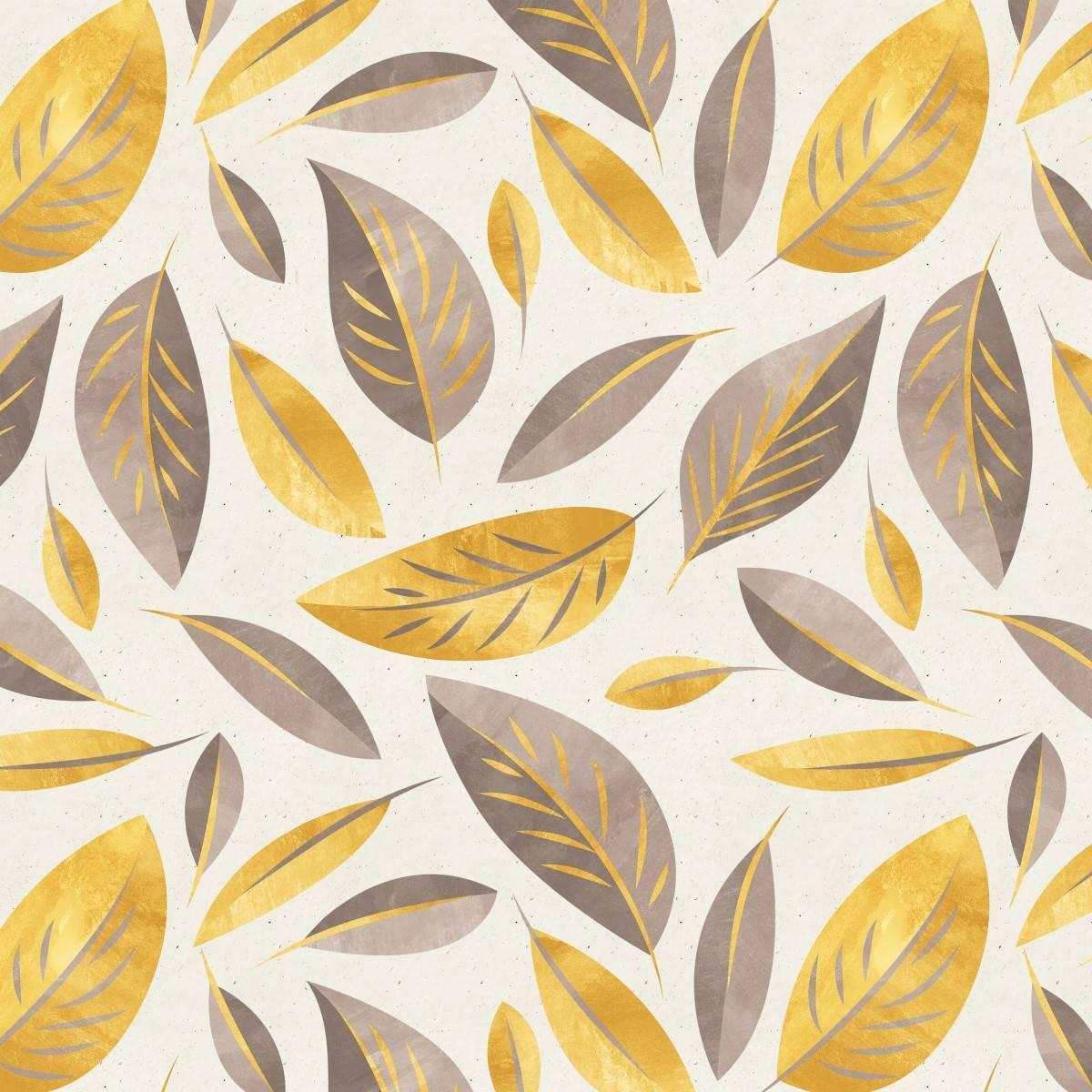 Papel de Parede Folha Dourada |Adesivo Vinílico imagem 2