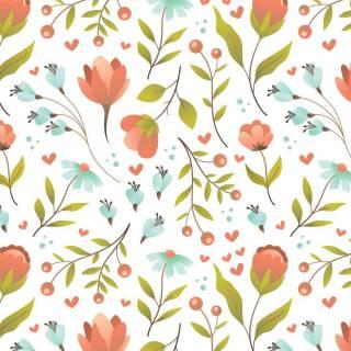 Papel de Parede Floral Infantil| Adesivo Vinílico