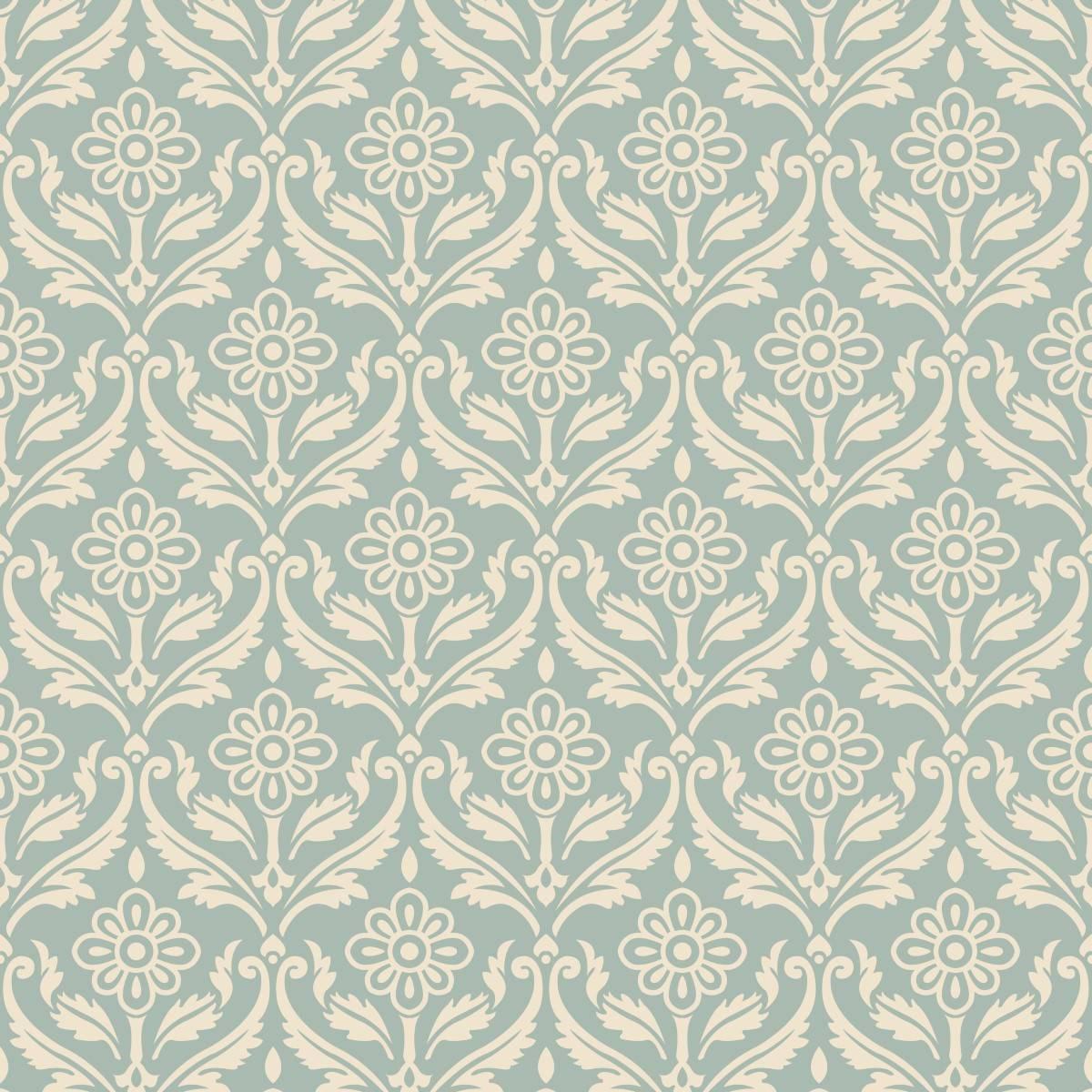 Papel de Parede Arabesco Floral | Adesivo Vinilico imagem 2