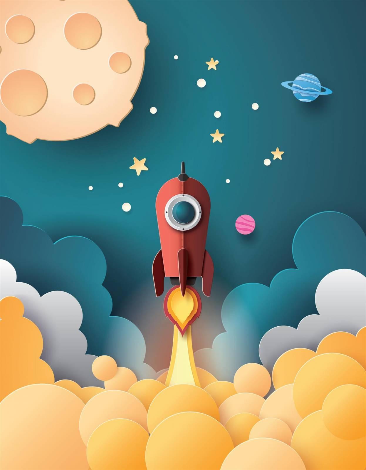 Painel Fotográfico Espacial  / m² imagem 1