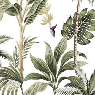 Papel de Parede Bananeira | Adesivo Vinílico
