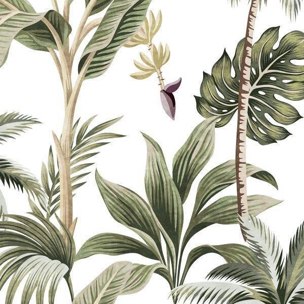 Papel de Parede Bananeira | Adesivo Vinílico  imagem 1