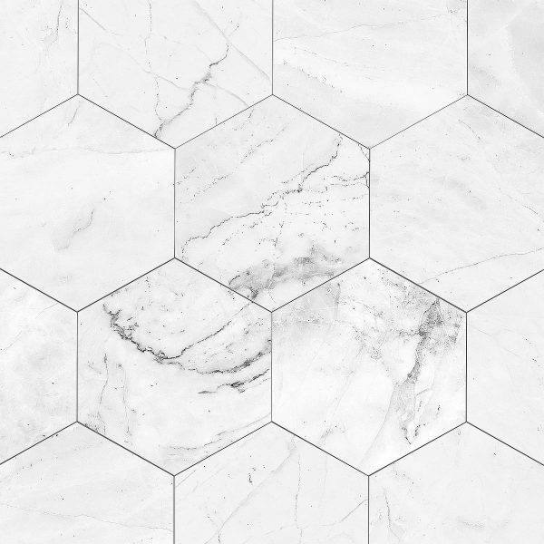Painel Fotográfico Textura Mármore Losango/ m² imagem 1