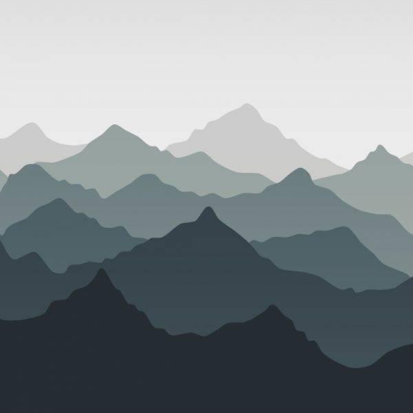 Painel Fotográfico Montanhas Degrade/ m² imagem 1