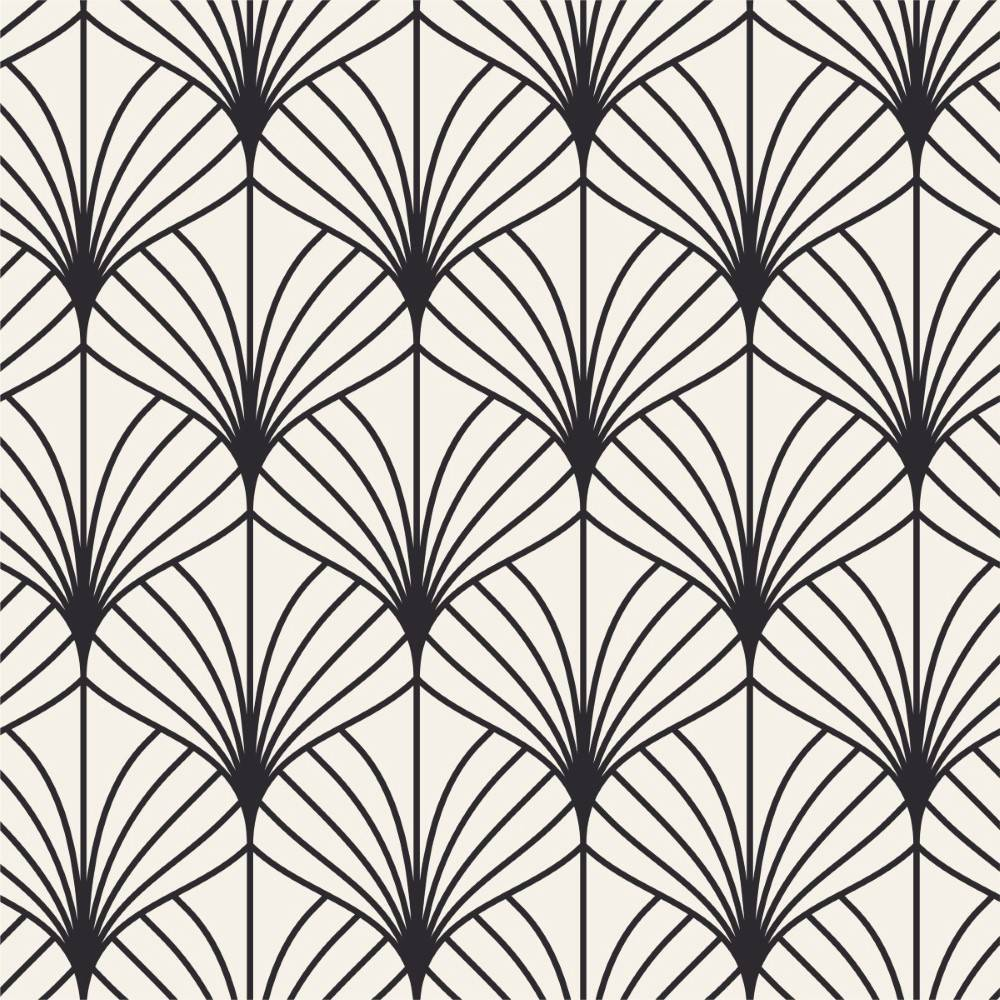 Papel de Parede Adesivo Geométrico Deco / R$ 169,00 o Rolo - Redecorei