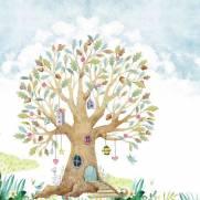 imagem do Painel Fotográfico Infantil Lúdico Árvore/ m²
