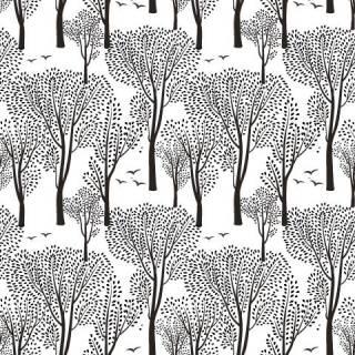 Papel de Parede Floresta Negra | Adesivo Vinílico