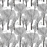 imagem do Papel de Parede Floresta Negra | Adesivo Vinílico