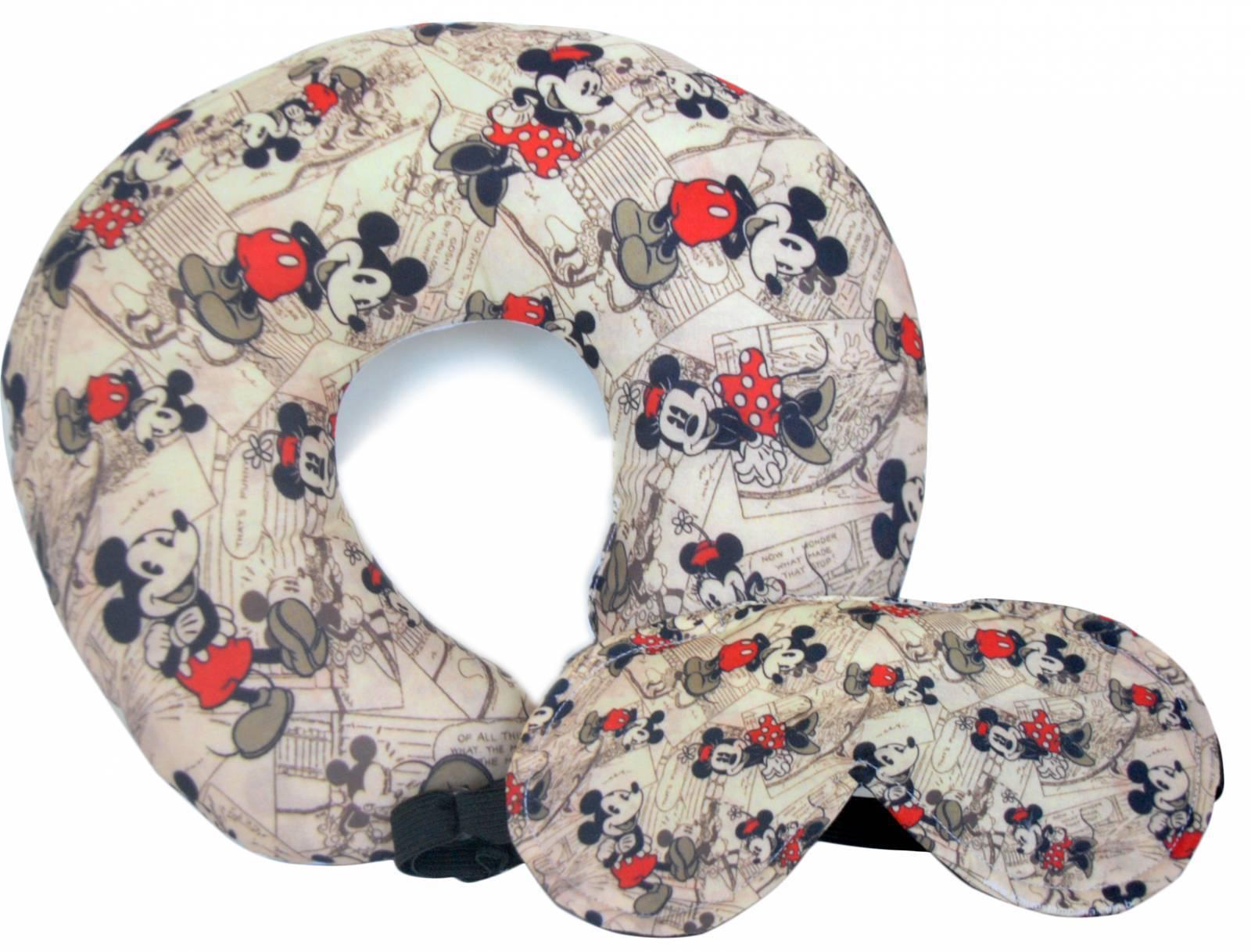 Almofada de Pescoço e Mascara de dormir Personalizadas  - To - kmix estamparia