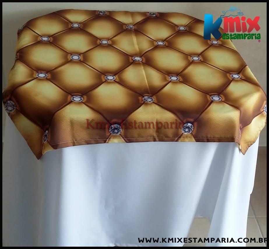 COBRE MANCHAS / SOBRE TOALHAS  85X85 cm - (pedido minimo 20 peças) - kmix estamparia