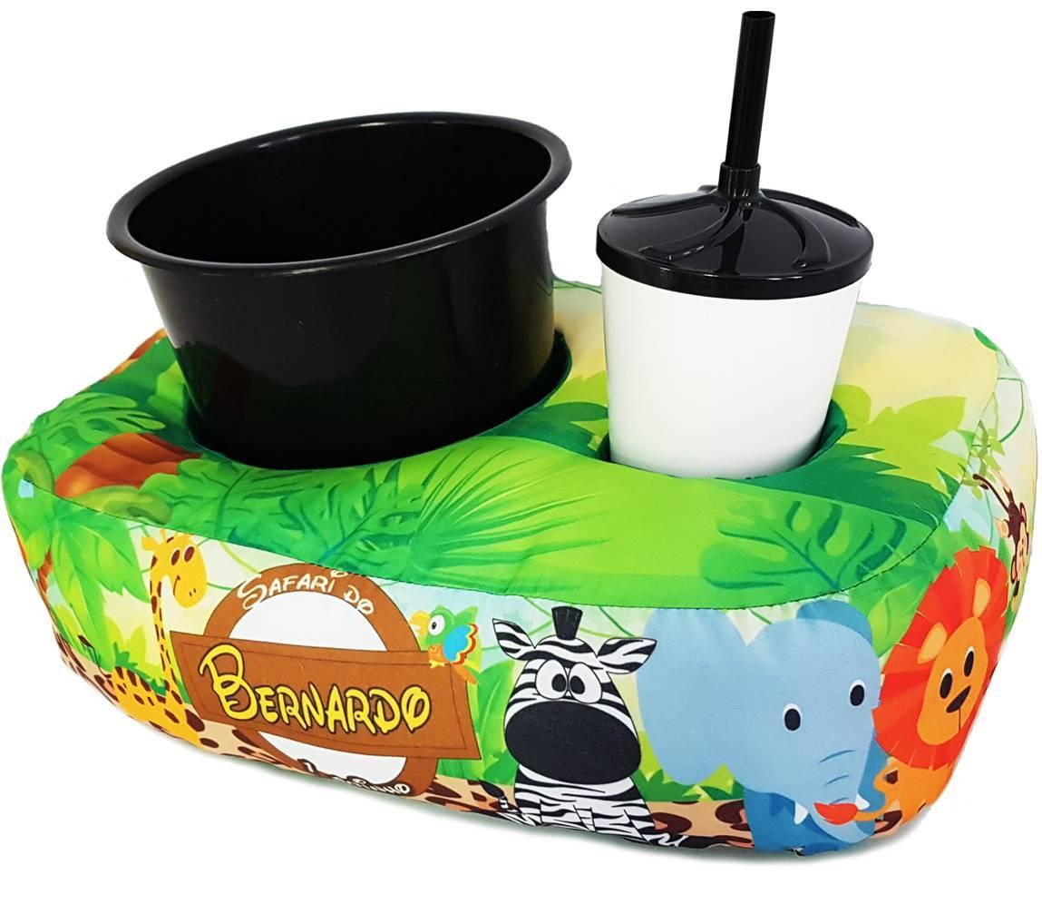 ALMOFADA PARA PIPOCA PERSONALIZADA 1 copo e balde (Pedido mi - kmix estamparia