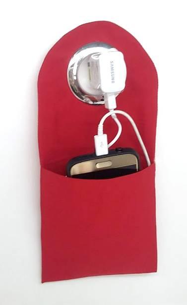 Porta Carregador de Celular - todos os temas (pedido minimo  - kmix estamparia