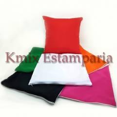 Capas 30x30 cm para sublimação com ziper (pedido minimo 10 peças) | kmix estamparia