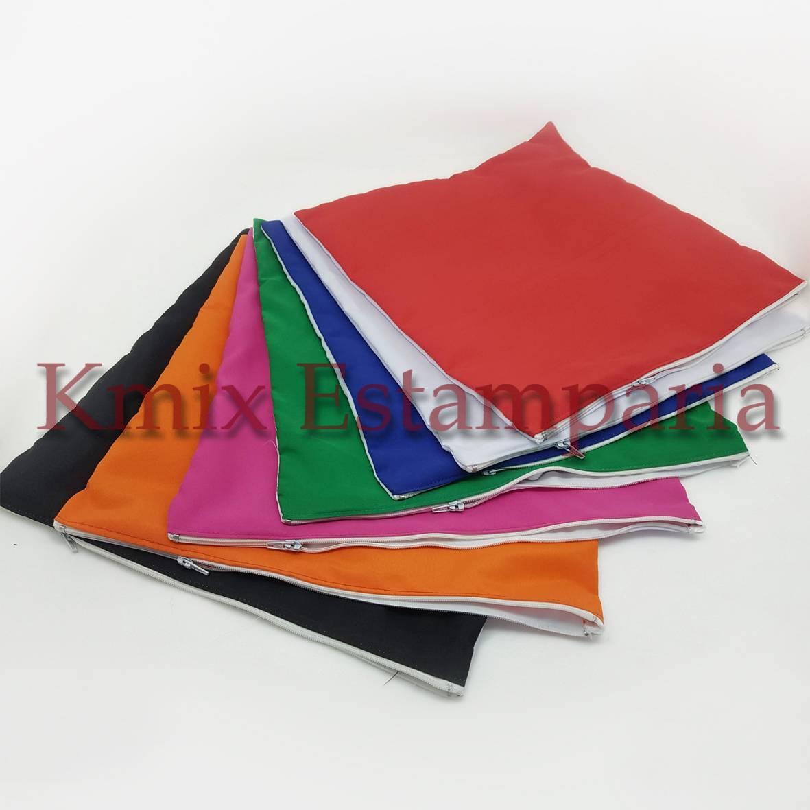 Capas 30x30 cm para sublimação com ziper (pedido minimo 10 p - kmix estamparia