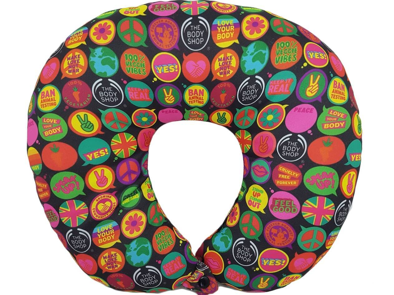 Almofadas de Pescoço Personalizadas com botão-Todos os Temas (pedido mínimo - 20 peças) - kmix estamparia