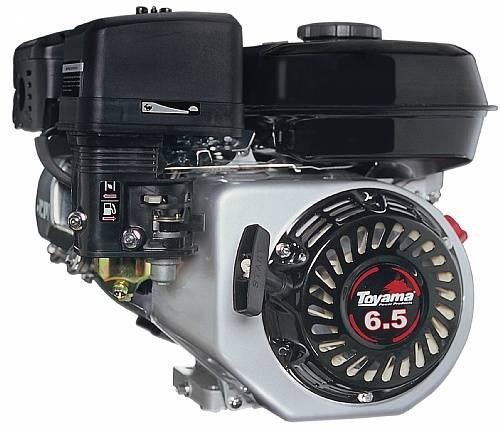 MOTOR GASOLINA 6,5HP TOYAMA COM SENSOR DE ÓLEO - TF65FX1 - Pesca e Campo