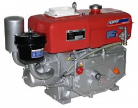 MOTOR DIESEL 8HP FORTH ENGINE PARTIDA MANUAL E RADIADOR - DE - Pesca e Campo