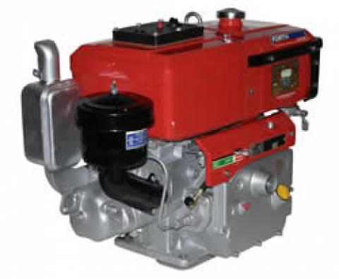 MOTOR DIESEL 10,5HP FORTH ENGINE PARTIDA MANUAL E RADIADOR - - Pesca e Campo