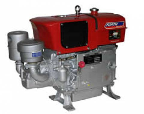 MOTOR DIESEL 16.5HP FORTH ENGINE PARTIDA MANUAL E RADIADOR-  - Pesca e Campo
