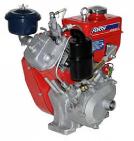 MOTOR DIESEL 3HP FORTH ENGINE PARTIDA MANUAL - DE30A-1 - Pesca e Campo