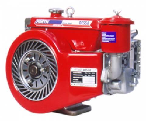 MOTOR DIESEL 5,5HP FORTH ENGINE PARTIDA MANUAL - DE55A - Pesca e Campo