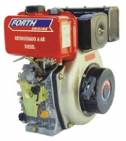 MOTOR DIESEL 6,7HP FORTH ENGINE PARTIDA MANUAL - DE67AL - Pesca e Campo