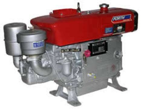 MOTOR DIESEL 14HP FORTH ENGINE PARTIDA MANUAL - DE140H - Pesca e Campo