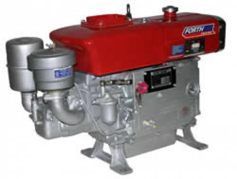 MOTOR DIESEL 14HP FORTH ENGINE PARTIDA MANUAL E RADIADOR - D - Pesca e Campo