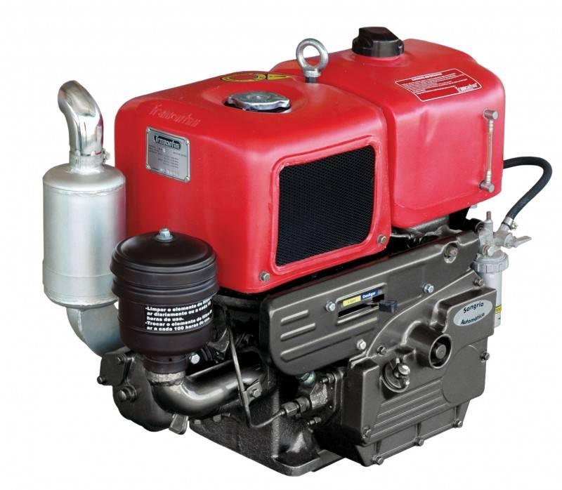 Motor Diesel Tramontini TR12R 10,5HP Radiador - Pesca e Campo
