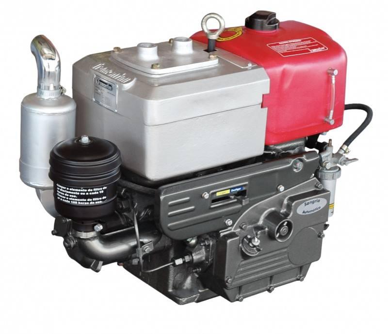 Motor Diesel Tramontini TR12S 8,2HP Sifão - Pesca e Campo