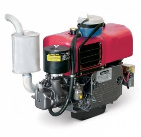 Motor Diesel Tramontini TR18R 16,5HP Radiador Partida Manual - Pesca e Campo
