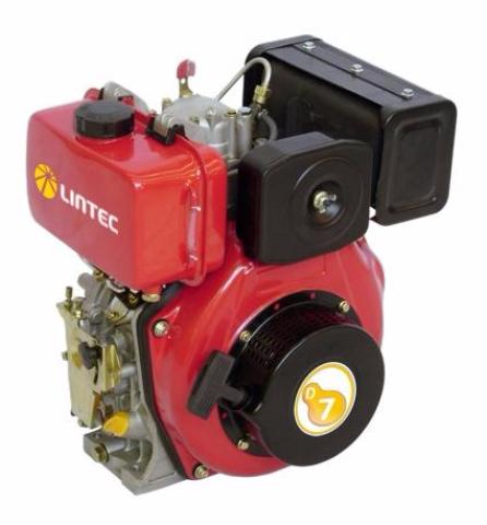 Motor Diesel Agrale Lintec D7E 6 HP - Pesca e Campo