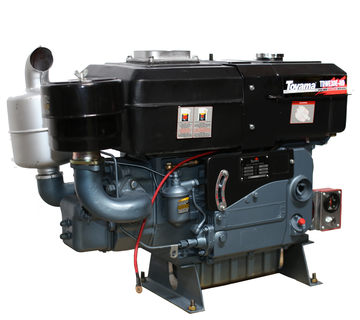 Motor Estacionário Diesel 30 hp TDWE30E HD Toyama - Pesca e Campo