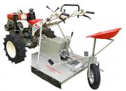 Aparador De Grama Maquina Fort AGT900 Traseiro Para Micro-Trator