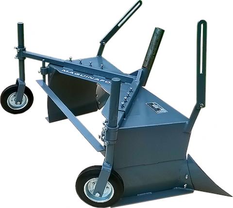 Encanteirador Maquina Fort Com Rodas Para Micro-Trator - Pesca e Campo