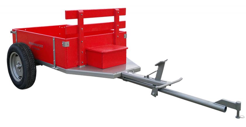 Carreta Simples 1300 R-13 Maquina Fort Para Motocultivadores - Pesca e Campo