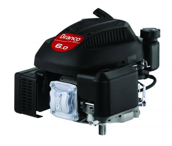 Motor Gasolina Branco B4T-6.0V G3 Partida Manual - Pesca e Campo