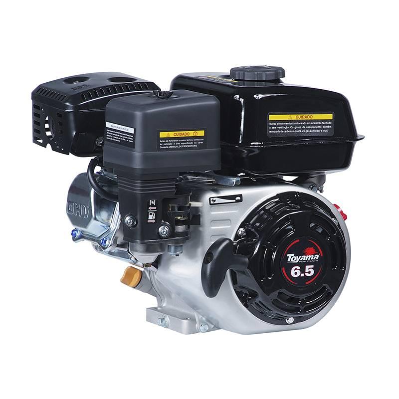 Motor Gasolina Toyama 6.5 hp com rabeta simples 2,2m - Pesca e Campo