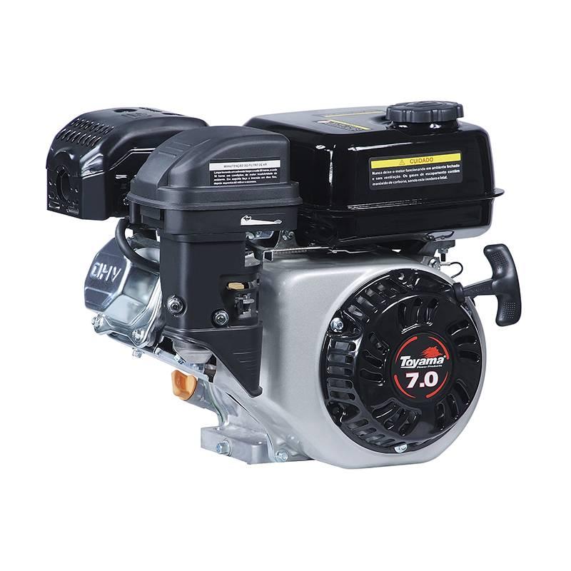 Motor Toyama Gasolina 7 hp Sem alerta de óleo  - Pesca e Campo